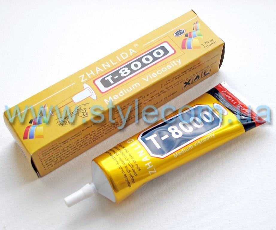 Клей T8000 glue (110ml) прозрачный